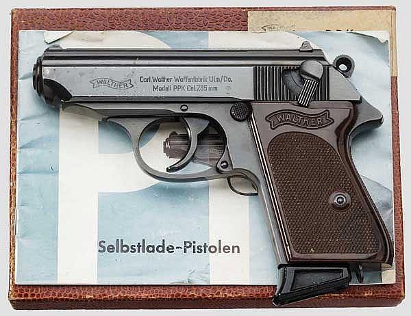 Walther PPK, Ulm, im Karton