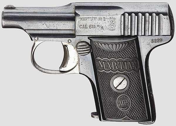 Pistole Martian No. 2