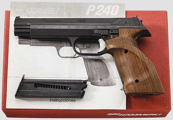 SIG P 240, im Karton