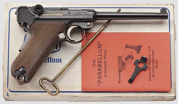A Parabellum Mauser Mod. 29/70, American Eagle, Interarms, in carton