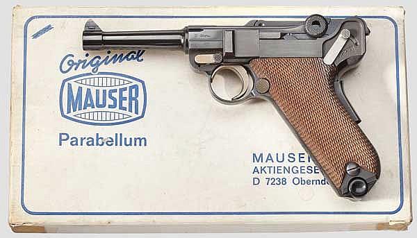 Parabellum Mauser Mod. 29/70, American Eagle, Interarms, im Karton