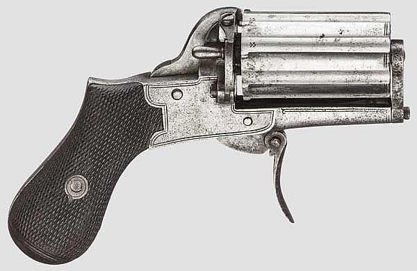 Brit. Bündelrevolver, um 1870
