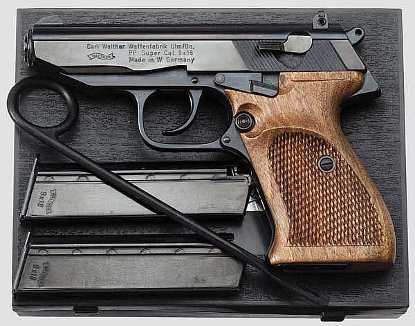 Walther PP Super, in Box