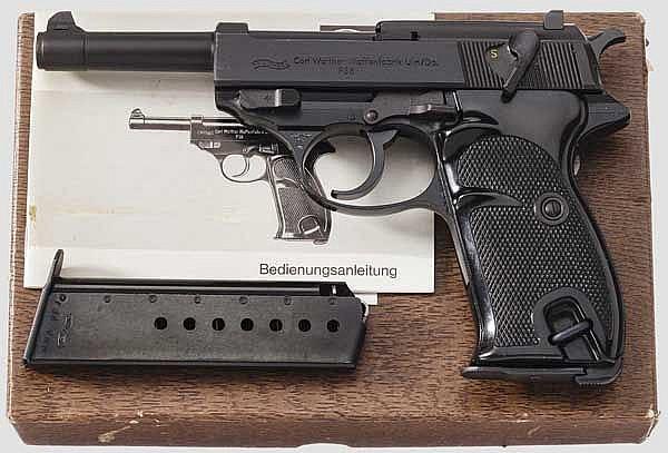 Walther P 38, im Originalkarton