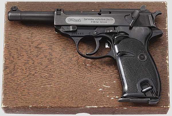 Walther P 38 im Kal. .22 l.r., im Karton