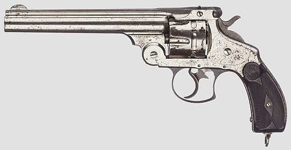 Smith & Wesson .44 DA 1st Model, vernickelt