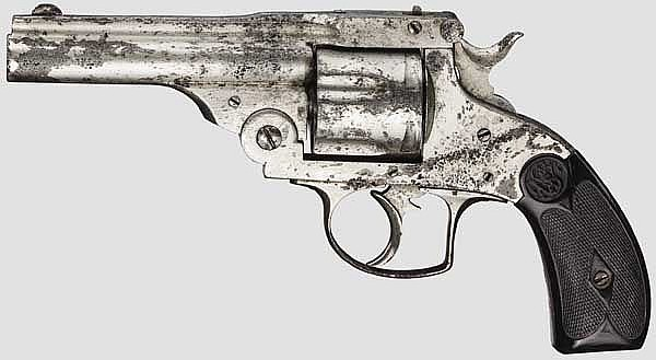 Smith & Wesson(?) Double Action Revolver