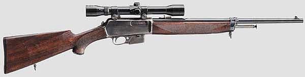 Winchester Mod. 1907 S.L., mit ZF Allas