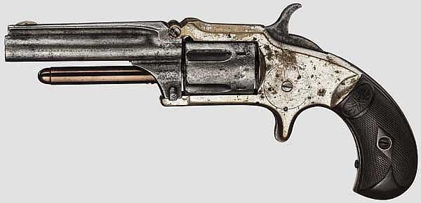 Marlin No. 32 Standard 1875 Revolver