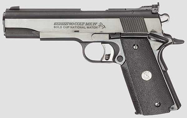 Colt MK IV/Series 80, Gold Cup National Match