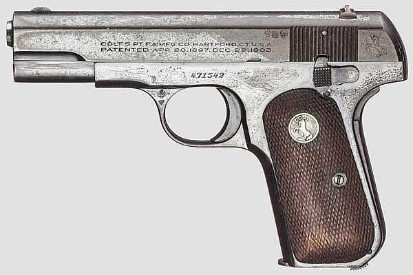Colt Mod. 1903, Hammerless