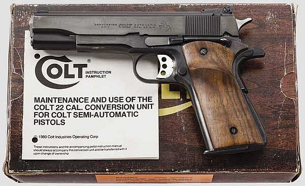 Colt 22-45 Conversion Unit, im Karton
