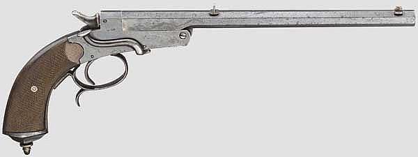 Deutsche Scheibenpistole System Leclercq