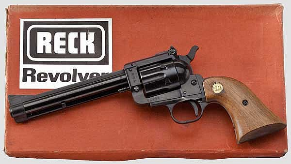 Revolver Reck Mod. R 14, im Karton