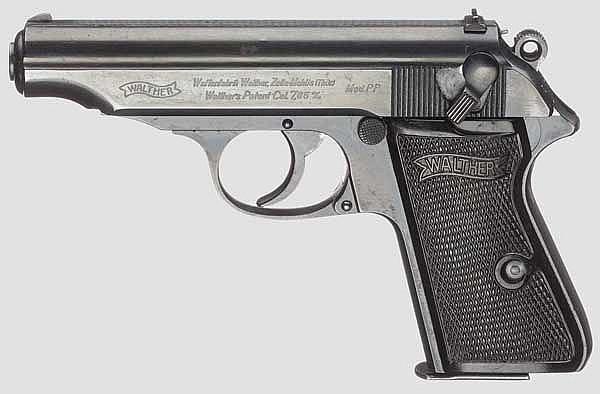 Walther PP, ZM, mit Tasche
