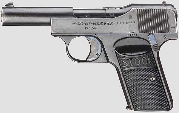 Pistole Stock, 1. Ausführung