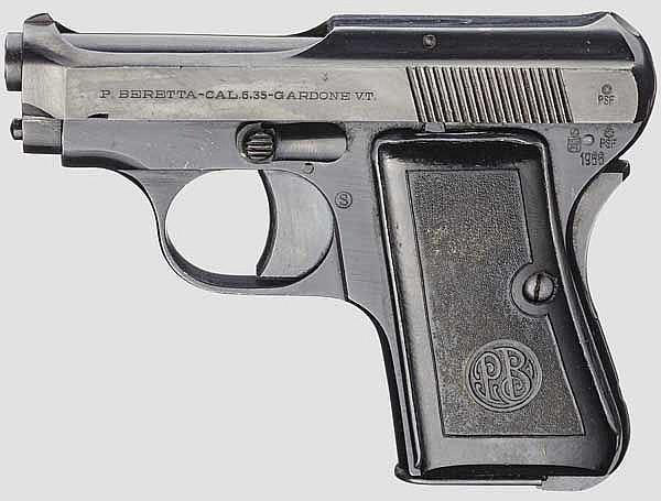 Beretta Mod. 418, späte Ausführung