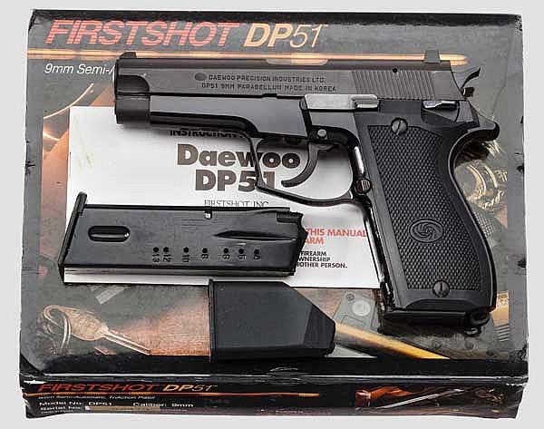 Daewoo, Mod. DP 51, im Koffer