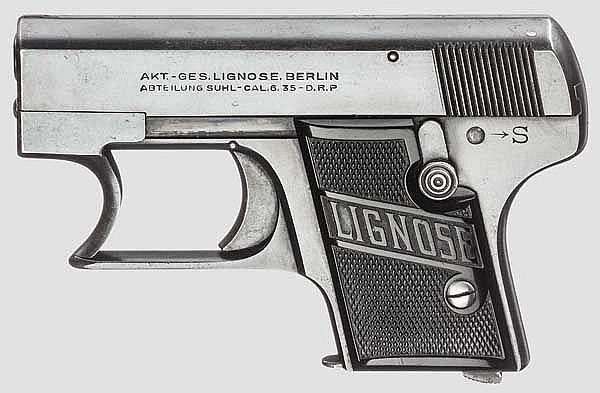 Lignose Einhand-Pistole Mod. 2 A