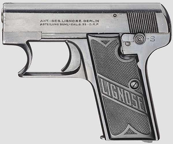 Lignose Einhandpistole Mod. 3 A