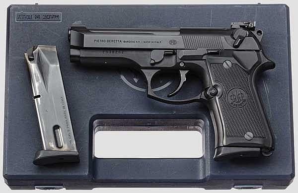 Beretta Mod. 92 FS Compact, im Koffer