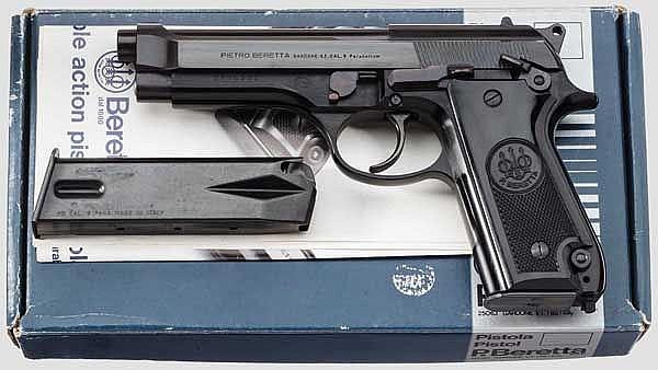 Beretta Mod. 92, im Karton