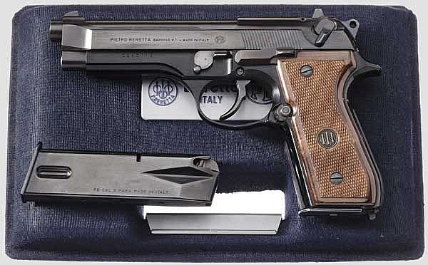 Beretta Mod. 92 SB, im Koffer