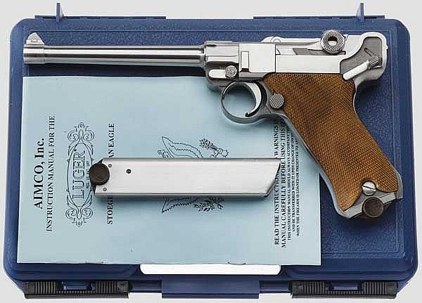 Luger Navy, Stoeger American Eagle, im Koffer