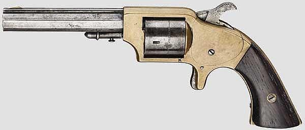 Merwin & Bray Front Loading Pocket Revolver, um 1865