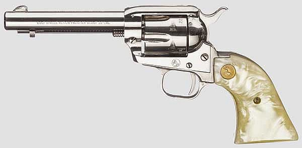 Colt Single Action Frontier Scout, vernickelt