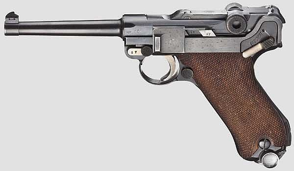 A Parabellum Mauser, Commercial, with no. 107v out of the sequence
