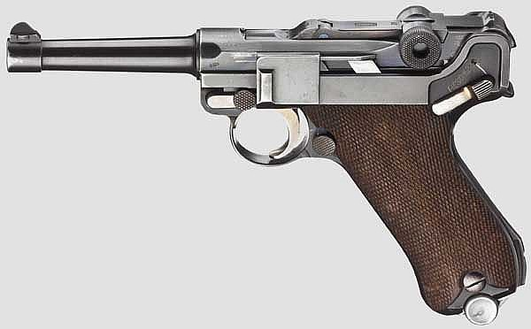 A Parabellum Mauser, Early Banner, Commercial 1935