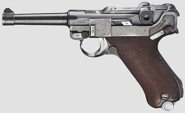 A Parabellum Mauser, Early Banner 1936, Commercial