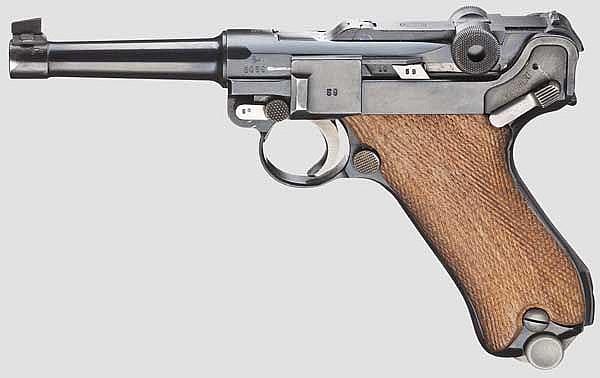 A Parabellum Mauser Banner 1939, Commercial, Sweden
