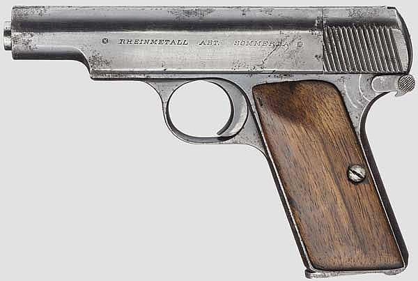 Pistole Rheinmetall, 2. Ausführung