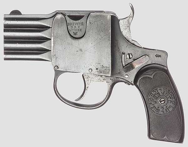 Reform-Pistole, Patent A. Schüler, um 1905