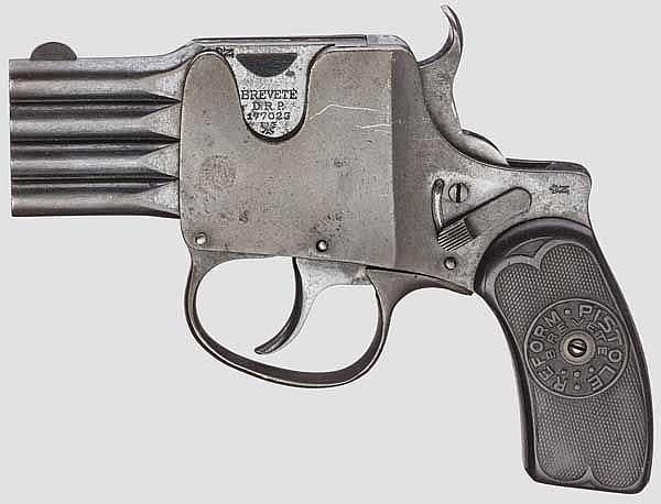 Reform-Pistole, Patent A. Schüler