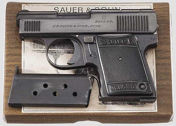 W.T.M. Sauer & Sohn Mod. 1920, im Karton