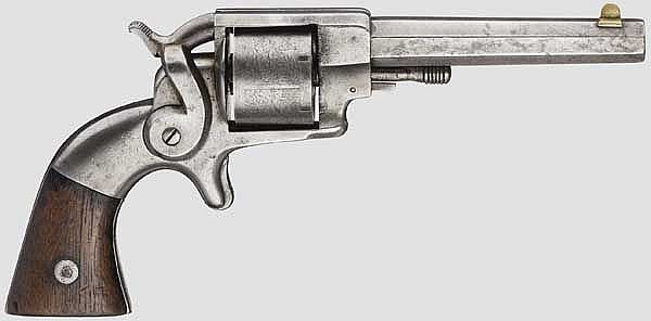 Allen & Wheelock Side Hammer Rimfire, 3rd Model, um 1860