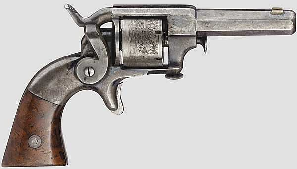Allen & Wheelock Side Hammer Rimfire, 1st Model, um 1860
