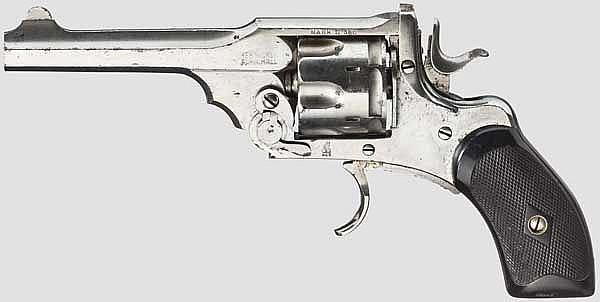 Webley Mark II Pocket Revolver,