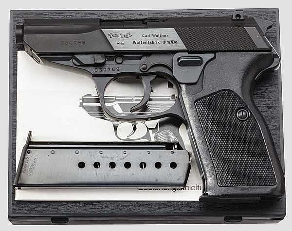 Walther P 5 im Kal. 7,65 mm Para, in Box