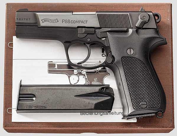 Walther P 88 Compact, im Karton
