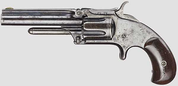 Smith & Wesson Model Number One-And-A-Half, New Model (2nd Issue), um 1870