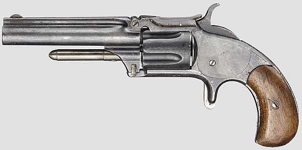 Smith & Wesson Model Number One-And-A-Half, um 1870
