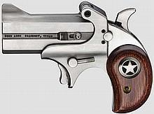Double Deringer Texas Defender, mit Holster