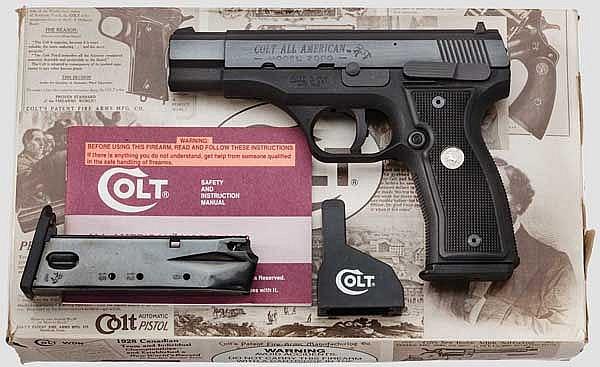 Colt All American Mod 2000, im Koffer und Umkarton