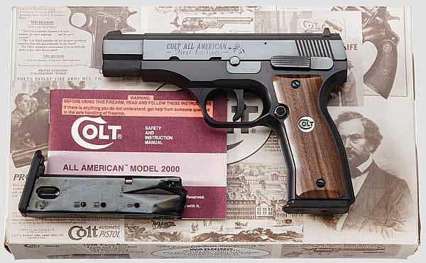 Colt All American, 1. Edition, Mod. 2000, im Koffer und Umkarton