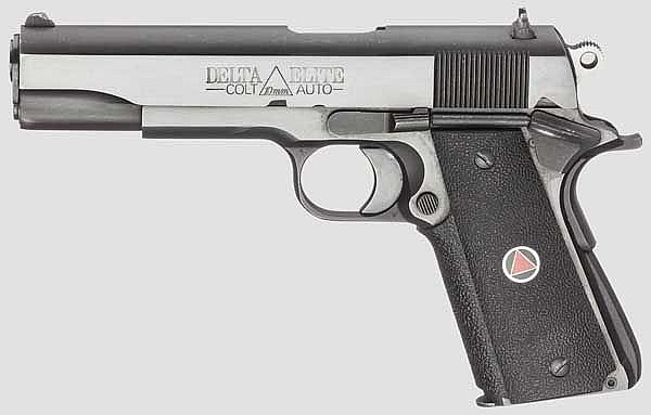 Colt Delta Elite, Government Model