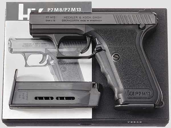 Heckler & Koch P 7 M 13, in Box